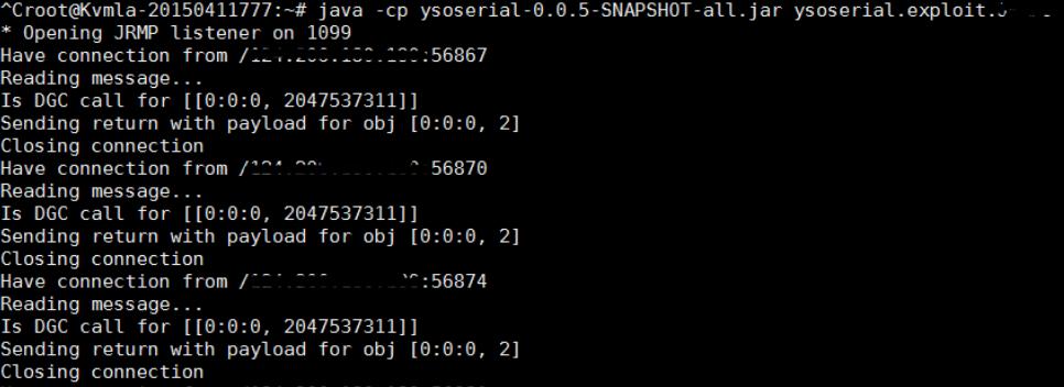 Oracle WebLogic Server RCE Deserialization Vulnerability